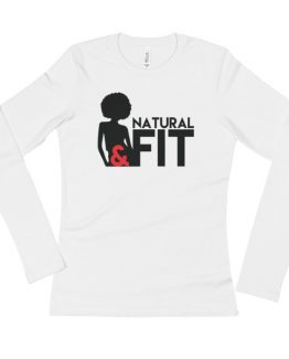 Natural & Fit – Ladies' Long Sleeve T-Shirt