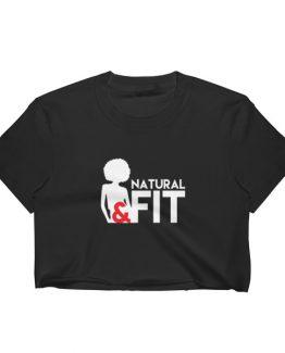 Natural & Fit – Women's Crop Top