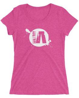IA ladies' short sleeve t-shirt