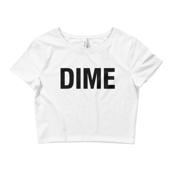 Dime Crop Tee Immortal Apparel Shop