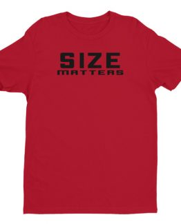 Size Matters men's t-shirt