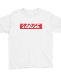 Youth Short Sleeve Savage T-Shirt