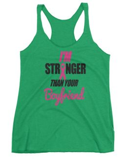 Stronger Awareness Women's Racerback Tank