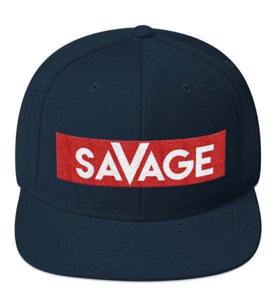 Savage snapback hat immortal apparel shop savage snapback hat fandeluxe Images