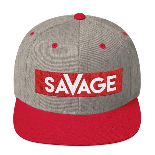 Savage Snapback Hat – Immortal Apparel Shop 8f8f91e7b613