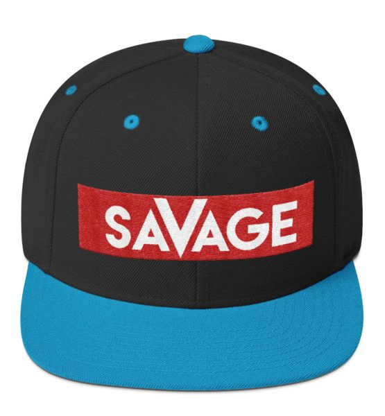 Savage snapback hat immortal apparel shop fandeluxe Image collections