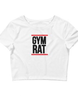 Gym Rat Crop Tee