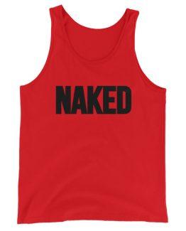 Naked Men's Tank Top